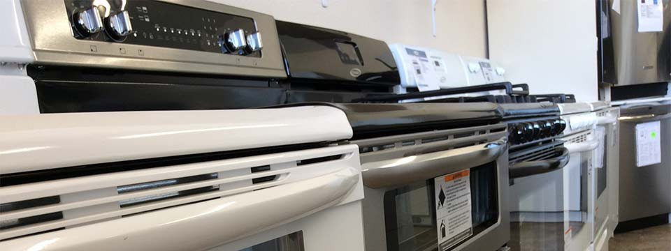 Stoves to dryers - we have all of your appliance needs!